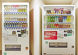 自動販売機 1・5・7・9・11F、製氷機 5F、タバコ 1F